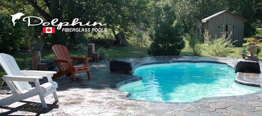 Dolphin fiberglass pools for Pool design vancouver